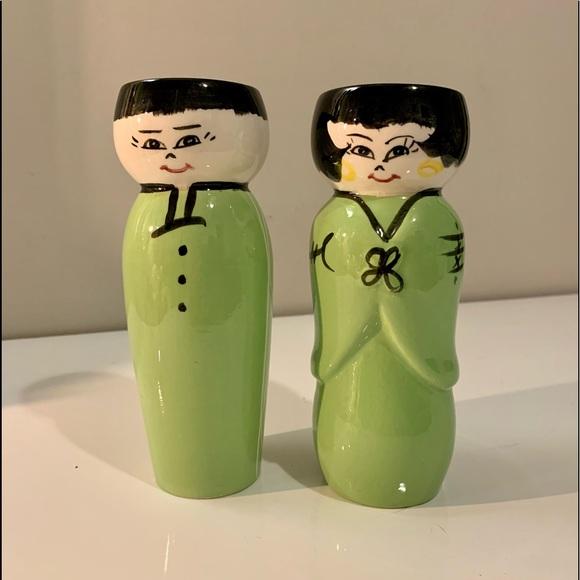 🌸2for$30🌸Japanese Boy & Girl Saki Bottles/Vases